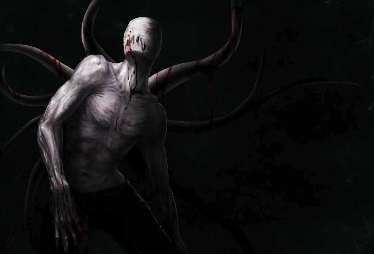 You once again come across another page but you also hear slender man coming, what do you do?