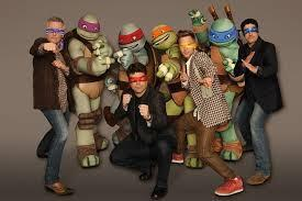 Which of the 2012 turtle voice actors was inspired by the series as a child??
