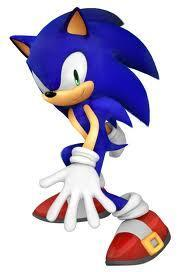 """Hey, my friends are over there. Come on, they're gonna want to meet you."" Sonic motioned you forward and started jogging towards a group of animals."