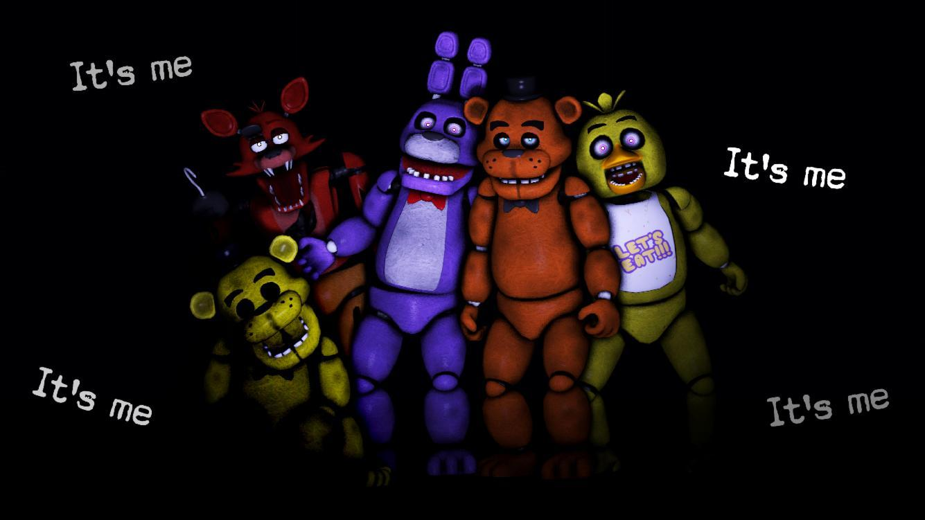 What are the names of the FNAF animatronics?