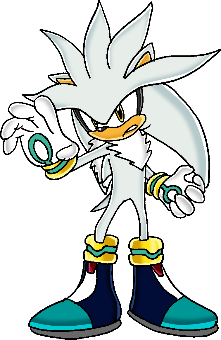 """whats so fuuny!"" yelled the black one. You stopped laughing and stared them for a minute ""wait you are not kidding?"" ""nope he blue one repiled ""I'm Sonic! This is Silver Mr sunshine over there is Shadow and thats-"" ""I'm Scourge!"""