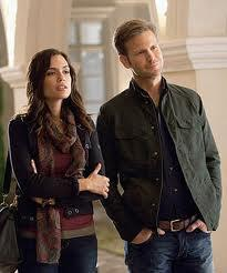 Alaric meets Meredith Fell, who is a doctor.