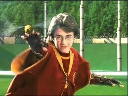 Which of these Harry Potter characters was the student who made Harry feel very scared just before the start of his first match, after being told by another Gyffindor player that they ended up in the hospital wing after their first ever Quidditch match?