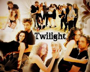 "In the first movie, ""Twilight"" who said ""I'll just drag you back""?"