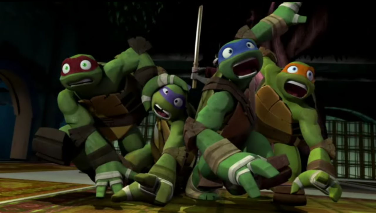 Which turtle does Sean Astin voice??