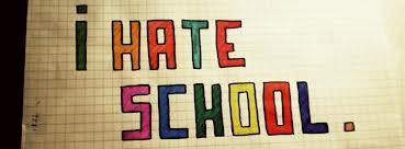 Who hates school most?