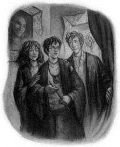 Book 6:In this book Harry gets liquid luck.However,what do Ron and Hermione THINK he used it for when really he didn't?