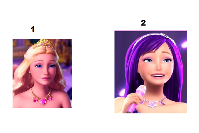 Which hairstyle do you like better 1 or 2? (p.s click the picture to make it bigger)