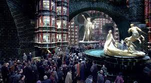 What was the name of the death eater who fooled the Ministry of Magic into making them all believe they was a good person by giving money to charity?