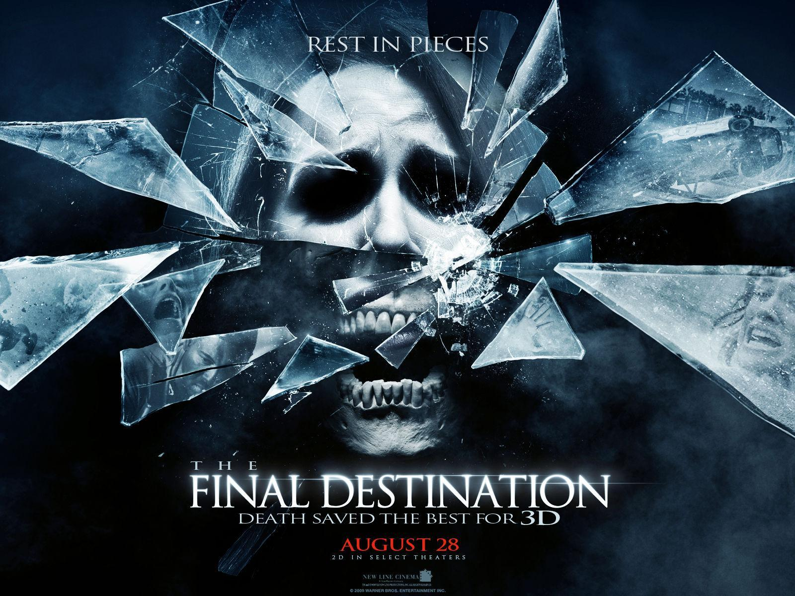 Select all of the places that people had visions of people dying at in the Final Destination movies.