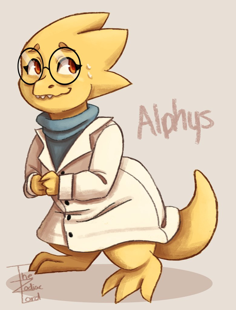 who is alphys?