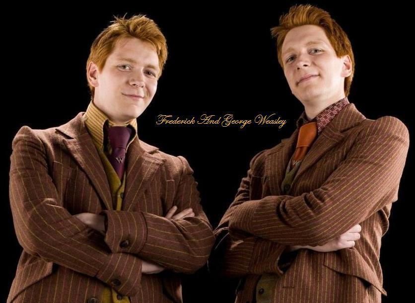 Starting off, what do you think of the weasley twins?