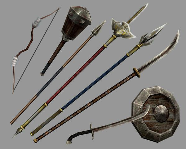 What is your favorite kind of weapon?