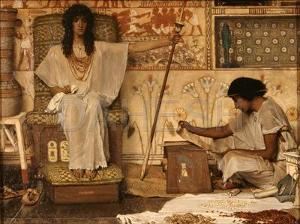 when the first female pharaoh, hatsepshut ruled Egypt the Egyptian economy was very successful. True or false?