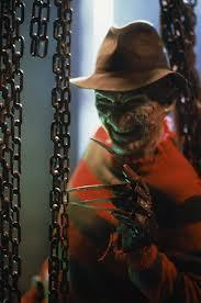 Easy peasy, so easy it is a freebie. What is Freddy's weapon?