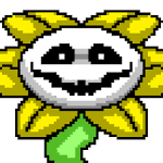 You find flowey the flower trying to kill you what do you do?