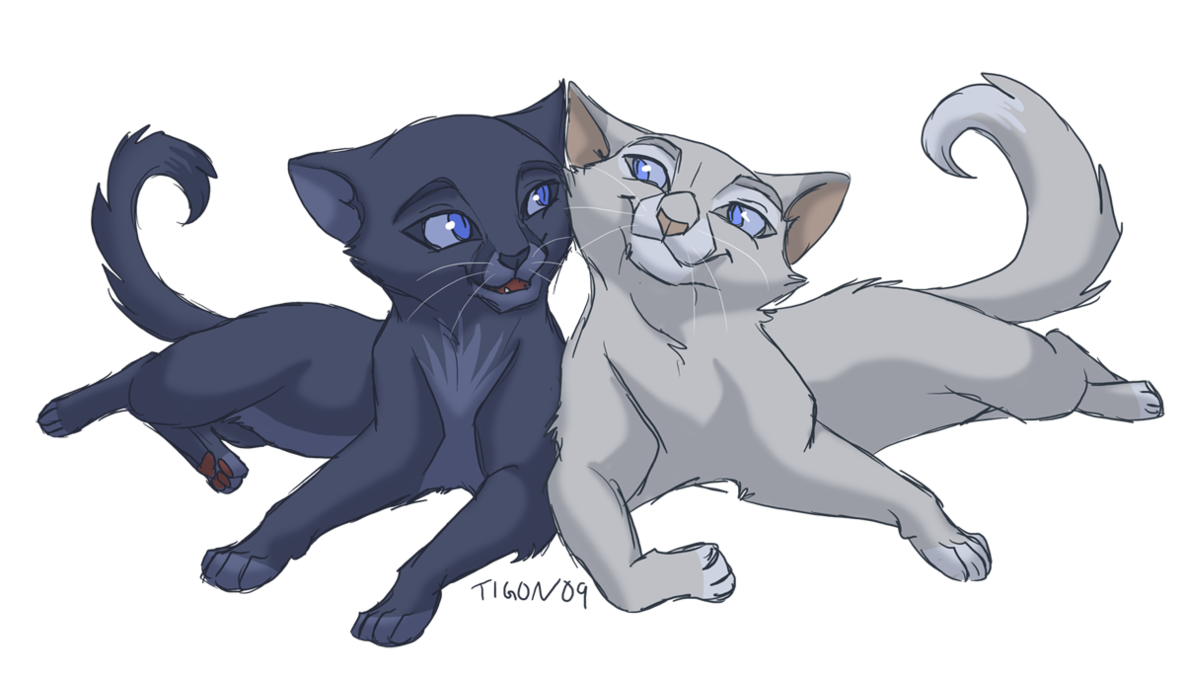 Who were Bluestar's parents and sister?