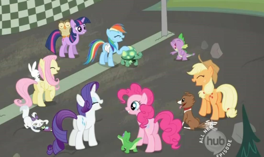What is Pinkie's pet's name?