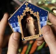 Who is on your favorite chocolate frog card?