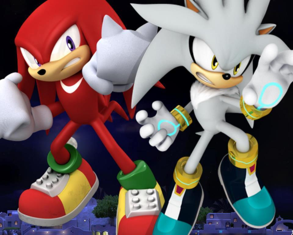 """Were going to play a prank on Silver and Tails,"" Aislin smiled. ""What?"" You smiled. ""Well since we got three emeralds. We decided to have a little fun,"" Star smiled. ""We're going to scare them,"" Sapphire said as Alexis turned into Knuckles and Aislin turned into Silver. ""This feels so weird,"" Alexis said as Silver and Knuckles came in."
