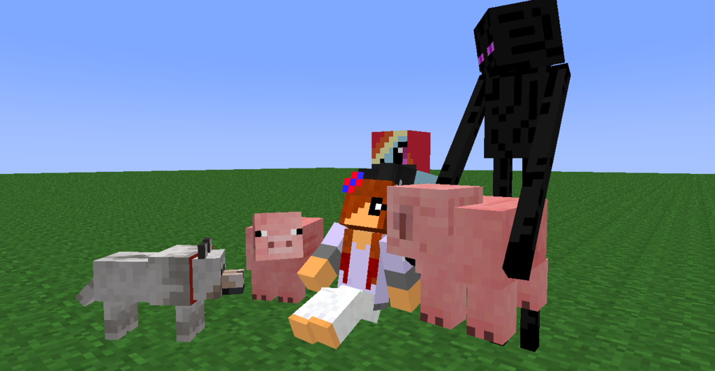 Do you have pets in mine craft?