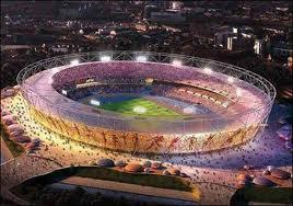 How many seats are in the Olympic Stadium in London?