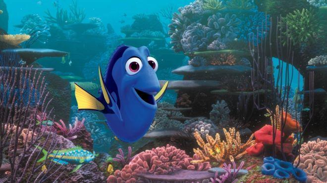 he went the wrong way... dory went left... or was it right?