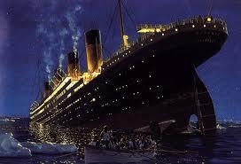 What time did Titanic sink