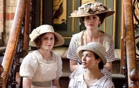 Who are the three sisters in Downton abbey?
