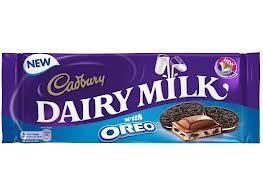 Cadbury and Oreo? Does that  sound nice?