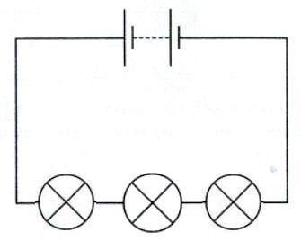 This picture shows a diagram of a circuit, describe what kind of circuit it is.