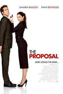 "In ""The Proposal"" with Ryan Reynolds, what was Sandra Bullock character's nationality ?"
