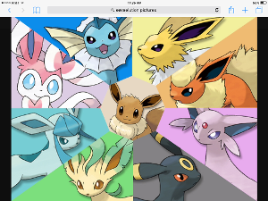 catgiraffe: Alright Eevee, your go.  Eevee: OK! If you were a pokémon type, which one would you be?