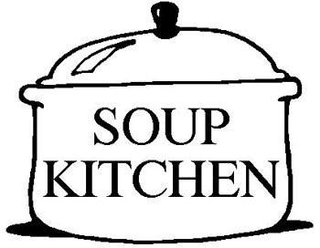 There is a soup kitchen at church looking for volunteers and cooks. Do you help?