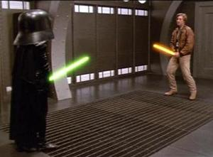 "In the movie ""Spaceballs"", the equivalent to the force in Star Wars is..."