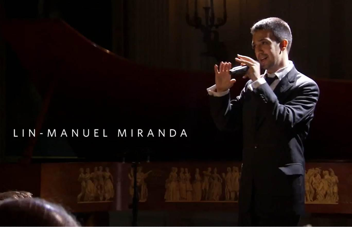 When did Lin-Manuel Miranda perform Hamilton's opening number at the White House?