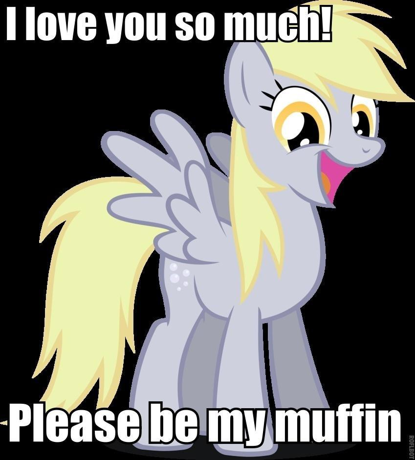 ROLEPLAY!!! Ok you walk into shuger cube corner and there is derpy and she is so hungry she thinks you and the video camra are muffins! Derpy: Muffffffiiiiinnnnnsss!!!!!!!