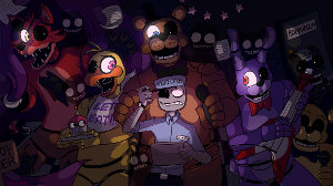 Choose one character from fnaf.