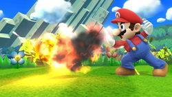In Super Smash Bros. for 3DS and WiiU, please name all of Mario's Custom Neutral Specials.