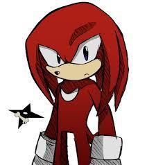 Milea and you rise on the second floor up to her room. You sit on her bed and you look at your feet, embarrassed. < Milea : What's going on? Tell me... > < You : Well... > < Knuckles *knocks* : Hey Milea, '___', supper is ready. > < Milea : Ow... You will tell me later! *winks* ... *Talks to Knuckles* And it's at this time that we eat at your home, at 9 pm?> < Knuckles : Stop complaining and comme eat. > Milea opens the door abruptly and Knuckles falls to the ground. < Milea: You listened to my door! > < Knuckles: Hehe ^_^' > < Milea : We will take our revenge, you will see! >