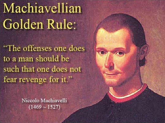 Theme 1 - Machiavellian Leadership