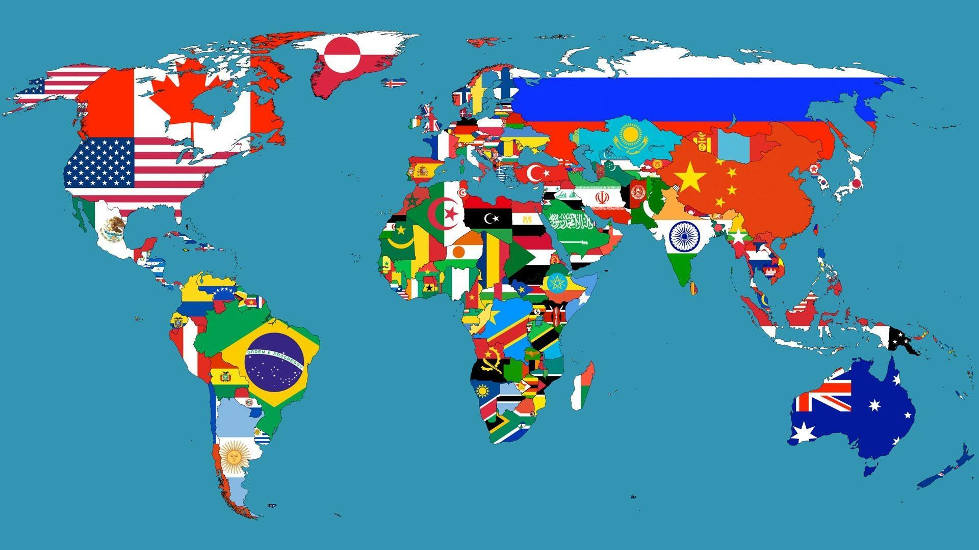 How many countries are there in the world? 2016