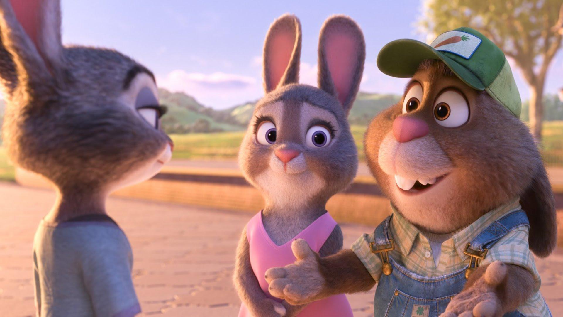 What occupation does Judy's Parents have?