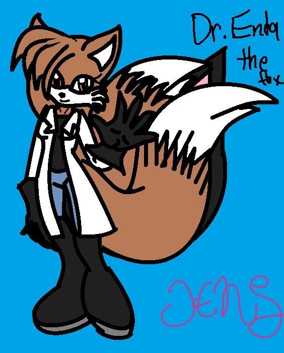 you see caila with a two tailed fox but she doesn't look like tails she asks to scan you what do you do