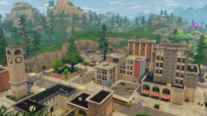 What's this famous place in Fortnite called?
