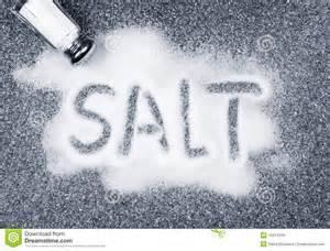 Will you sprinkle salt into your mouth without any other ingredients? BE HONEST