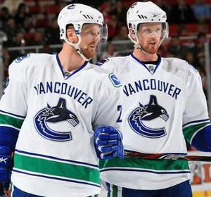 Who were the two best players on the Vancouver Canucks   (Its a tie for best)