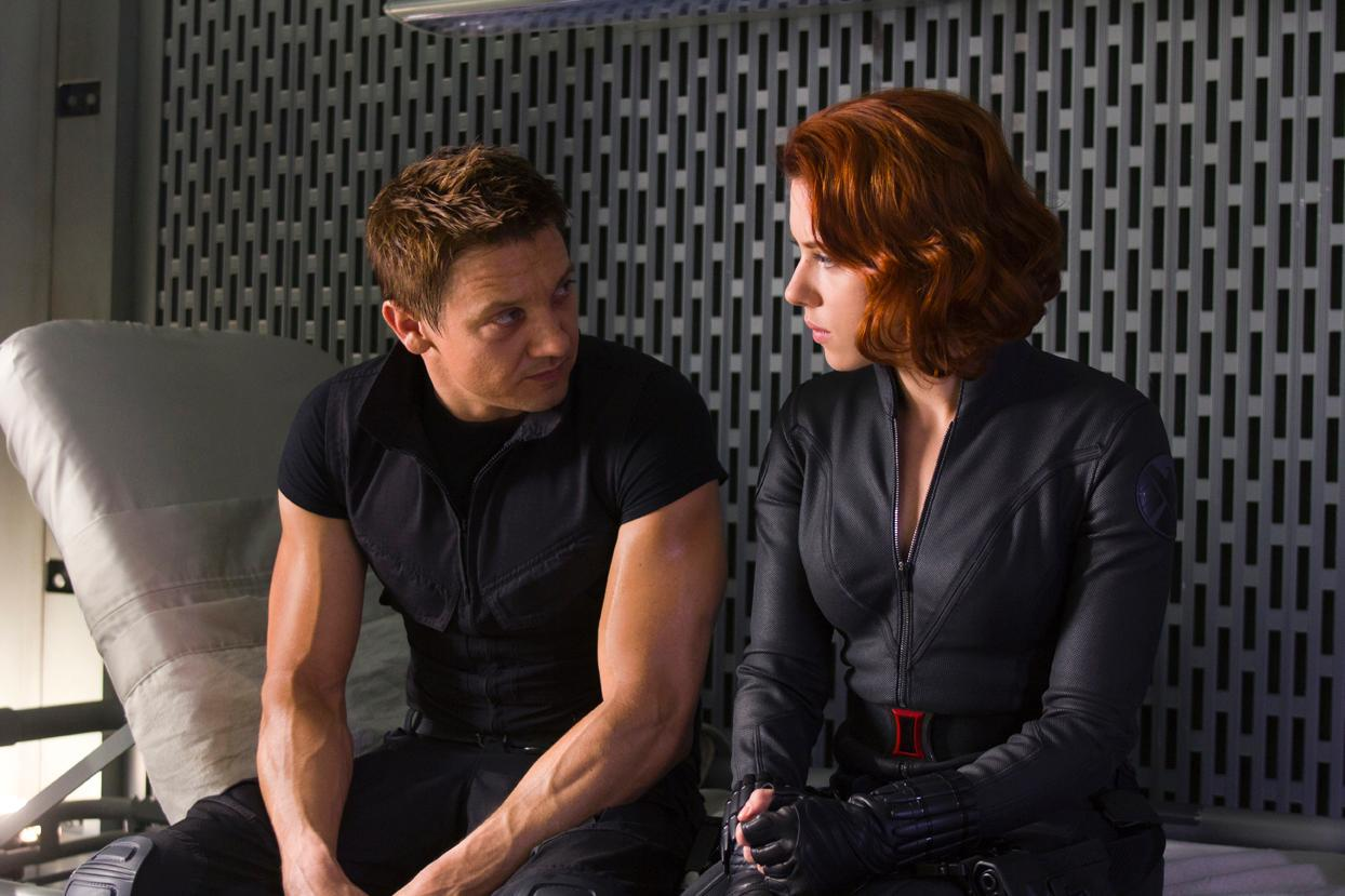 Scarlett Johanson and Jeremy Renner play the only two reocurring superheroes WITHOUT a movie.