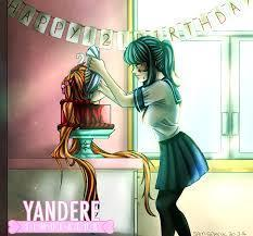 when is yandere- chan's birthday