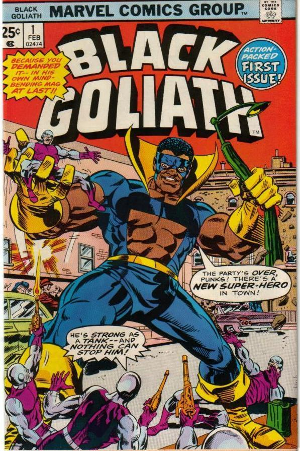 Black Goliath's real name is --